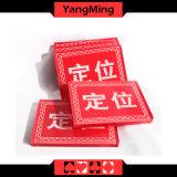 O laço feito sob encomenda dedicado do póquer do casino jogos acrílicos encontra o tipo Ym-Le01