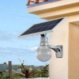 Lumière solaire campante solaire extérieure de jardin de lumen élevé léger de C.C