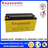 precio de energía solar 12V de la batería solar de la batería de almacenaje de la garantía de cinco años