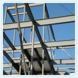 Estructura de acero de la alta calidad de Wiskind Q345 para el almacén