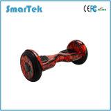 E-Vespa de equilibrio Patinete Electrico del uno mismo de la deriva de las ruedas de la pulgada dos de Smartek 10 con el altavoz S-002-1 de Bluetooth