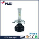 차를 위한 고품질 12V 24V는 또는 1개의 맨 위 램프 루멘 LED 자동 LED 헤드라이트 H4 전구에서 모두를 나른다