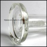 Tube droit en verre 9mm de Hfy 12 pouces de Zob de conduite d'eau de fumage en verre avec le tube droit commun de 18.8 mâles