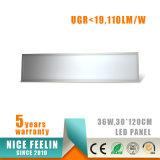 110lm/W Ugr<19, 300*1200mm 36W LED Instrumententafel-Leuchte