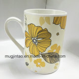 Impresión completa de cerámica de la taza de té del servicio de mesa de la taza de la porcelana de la taza