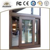 China Fabricación personalizada de aluminio deslizante ventana