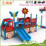 Structures extérieures de jeu de gosses à vendre, structure extérieure de jeu de petits Tikes avec la glissière