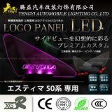 LEDのトヨタEstimaのための自動車の窓ライトロゴのパネル・ランプ