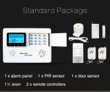Панель сигнала тревоги GSM +PSTN профессионала с беспроволочным дистанционным управлением