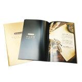 Impression de papier de brochure personnalisée par laminage de qualité