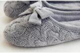 Крытые тапочки/крытые тапочки обуви/женщин/тапочки Knit