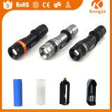 재충전용 공장 가격 고품질 플래쉬 등 LED, 최신 판매 2000lm 소형 LED 플래쉬 등 토치
