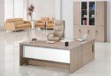 Moderner L-förmiger Chef-leitende Stellung-Schreibtisch