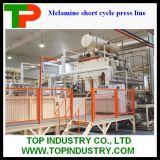 Машина давления высокого качества для прокатывать деревянной доски