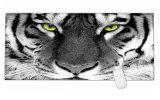 호랑이 확장되는 도박 넓은 큰 마우스 패드 매트 큰 크기 책상 매트 900*400*3mm