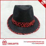 Chapéu de palha do vaqueiro com a fita para a promoção (GL201)