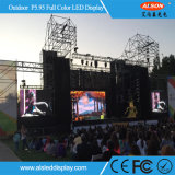 Alquiler P5.95 color al aire libre pantalla LED de visualización de Eventos