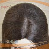 여자 가발에 본래대로 고동색 머리털 색깔 백색 피부 실크 최고 표피