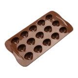 Molde material del silicón de la categoría alimenticia del certificado del nuevo producto FDA, molde formado shelles de /Chocolate del molde del pudín del silicón