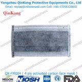 Respiradores de partículas disponibles y mascarilla médica no tejida del procedimiento de Earloop Qk-FM002