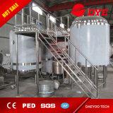 sistema forzado aire de la elaboración de la cerveza 10bbl/vasos el tanque del licor/cuba de Lauter del puré/de la caldera y del torbellino calientes 3 del Brew
