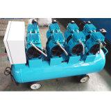 Compresor de aire de bomba 120L 4X550W silenciosa AC Industrial