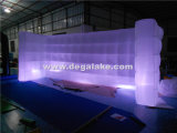 LED que enciende la pared inflable de la iluminación de la pared inflable para la feria profesional