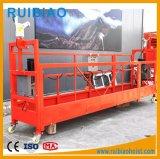 De aluminio de acero plataforma suspendida Cuna Plataforma