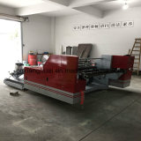Máquina automática el rajar y el rebobinar para el plástico de papel