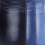 Tessuto blu scuro del denim di stirata (T119)