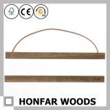 Natürlicher festes Holz-Abbildung-Foto-Rahmen, der für Dekoration formt