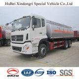 camion di autocisterna di olio combustibile della benzina dell'euro IV di 21cbm Dongfeng con il motore diesel di Cummins