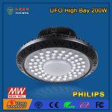 200W 선형 LED 높은 만 전등 설비를 주문을 받아서 만드십시오