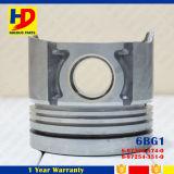 Motoronderdelen 6bg1 voor Zuiger met OEM van de Speld Aantal (1-12111-781-0)