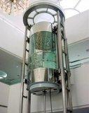 800kg~1000kg, 전체가 다 보이는 및 옥외 유리제 파노라마 엘리베이터