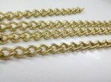 Catena a maglia Twisted dell'acciaio nichelato