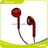 Accessori Black&Red Earbuds del telefono di alta qualità con il microfono