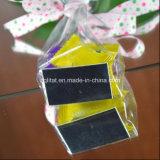 Bolso transparente impreso aduana de la parte inferior plana de BOPP para el embalaje del caramelo del regalo