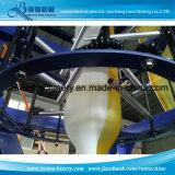 Farbstreifen-Plastikfilm-Extruder-Maschine