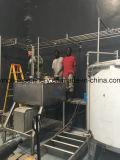 Terminar a linha de produção para o suco da manga