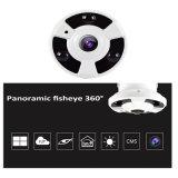 Câmera de segurança CCTV de visão noturna de 180 graus