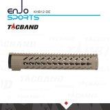 Vlotter Keymod van de Vezel van de Koolstof (CFC) van Tacband de Samengestelde Vrije 12 Donkere Aarde van het Spoor van het Spoor W/Picatinny van Handguard van de Duim de Hoogste