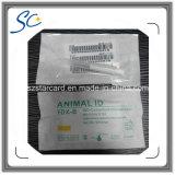 動物の識別のための134.2kHz Em4305 Fdx-B RFIDのマイクロチップ