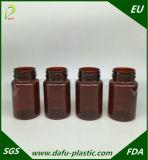 Bottiglia medicinale di plastica dell'animale domestico 120ml con la protezione della parte superiore di vibrazione
