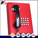 Allgemeines Notruftelefon-Bank-Bordbodentelefon für Öffentlichkeit verwendetes Kntech Knzd-27