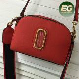 Dame-Form-Schulter-Beutel-echtes Leder Kreuz-Karosserie Handtasche Emg4807