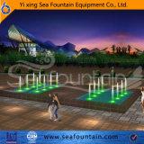 Al aire libre por encargo de la música de la piscina de la fuente Paquete de Madera