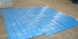 Folha ondulada da telhadura do metal ondulado do elevado desempenho