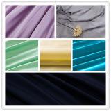 Tela teñida tejida 100% del satén del algodón de la materia textil para la camisa