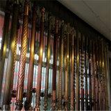Maniglia dell'acciaio inossidabile del bronzo di verde dell'oggetto d'antiquariato della maniglia di portello dell'hotel
